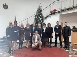 Uprave za slobodne zone organizovala Novogodi  nji koktel u Klubu poslanika